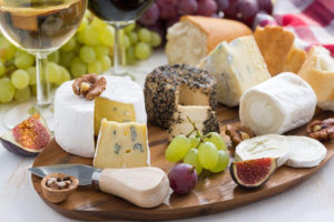 horizons catering - cheese tray