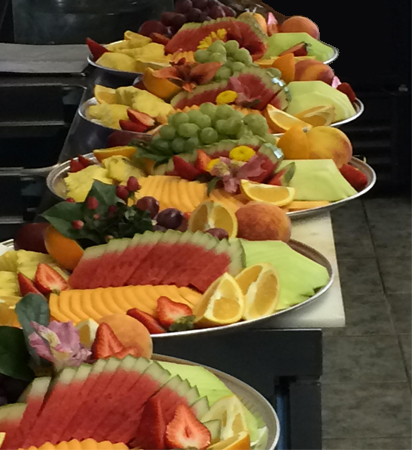 horizons catering - trays