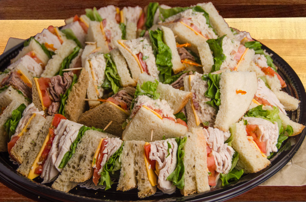 sandwich tray (Horizons Catering)
