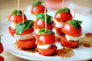 vegetarian selections (Horizons Catering)
