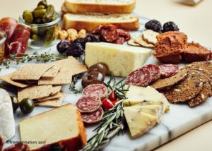 cheese and charcuterie (Horizons Catering)