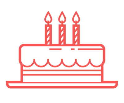 Birthday Menu Icon
